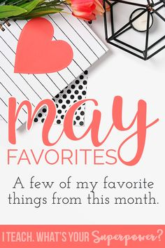 A few of my favorite things from the month of May.  Patio furniture, Bauble Bar, my favorite fake pancakes, and more!