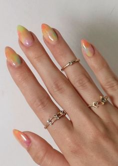 Funky Nails, Trendy Nails, Nail Art Vernis, Nagellack Design, Colorful Nail, Manicure Y Pedicure, Fire Nails, Minimalist Nails, Best Acrylic Nails