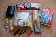 Home made medical kit