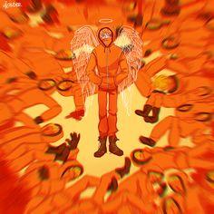 Kenny McCormick ~ the lone angel gif