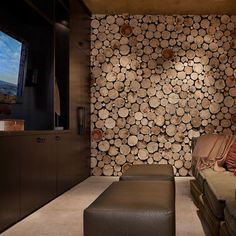High Alpine Residence TV Room
