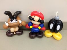 Nintendo lovers, this one's for you! Here is Goomba, Mario, and Bob-omb balloon animals. You can see more balloon art at http://www.gameskinny.com/m8wos/a-brand-new-twist-on-iconic-video-game-characters Check it out and leave some comments as to what balloon animals you want to see next!
