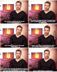 Ryan Reynolds is the perfect Deadpool