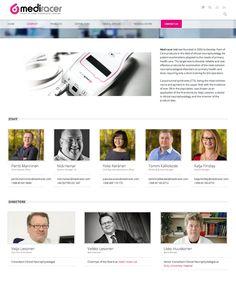 Responsiivinen verkkosivusto Mediracer.com | Lamia