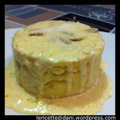 Polenta bianca di Ormea con sugo di porri #italiantraditionalfood