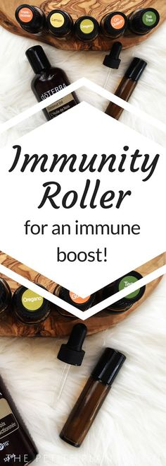 An Immune Boost Blend with Essential Oils!