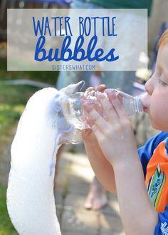 DIY Water Bottle Bubbles
