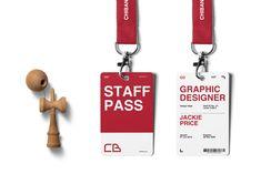 CB Design Production: CB VI Upgrade #branding #logo #design #vi #poster #posterdesign #staffidcard #idcard #carddesign #card #staffpass Identity Card Design, Corporate Identity Design, Event Branding, Stationery Design, Branding Design, Name Tag Design, Badge Design, Web Design, Employees Card