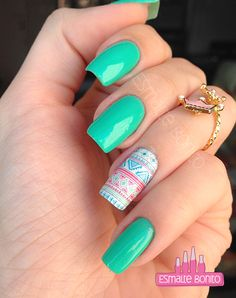 Nails Ombre Green Art Designs 57 Ideas For 2019 Perfect Nails, Gorgeous Nails, Love Nails, Fun Nails, Nail Stamping, Trendy Nails, Nail Arts, Manicure And Pedicure, Beauty Nails