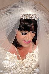 This is Gwen a crossdressing bride isn't she adorable?
