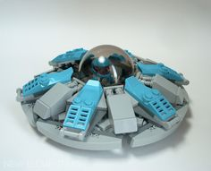 NEXOGON: Flying Saucergon | New Elementary, a LEGO® blog of parts