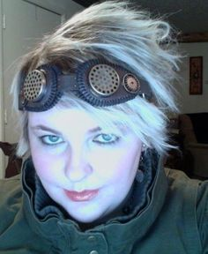 Steampunk Goggles ∙ How To by Micah the gnome on Cut Out + Keep. These are so cool! Great tutorial.