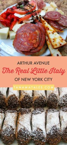 Surprise, surprise, the Real Little Italy of New York City is located in The Bronx. The Arthur Avenue area is the place to go for the best Italian food and specialties. Travel tips for food in North America.
