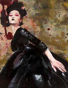 Lita Cabellut - Impressions of Asia 04
