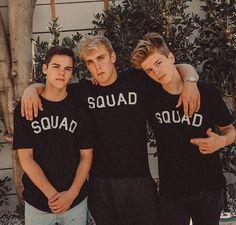 i got squad w/ me @jakepaul @imajmitchell