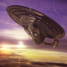 Star Trek Celebrating the Ships of the Line: USS Enterprise NCC-1701-E