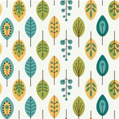 Contemporary Leaves - Bistro 750 Collection
