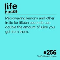 The post #256 – How To Get More Juice From Citrus Fruits appeared first on 1000 Life Hacks.