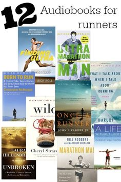 12 Audiobooks for runners  - get fired up while you run to push harder and farther