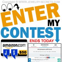 ►► ENTER MY CONTEST TODAY! ►► Jewelry Secrets