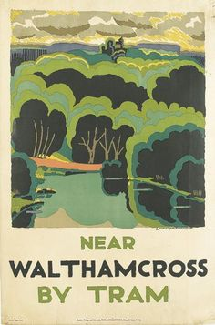 Near Waltham Cross By Tram. #london, #londonunderground, #londontube, #subway, #posters