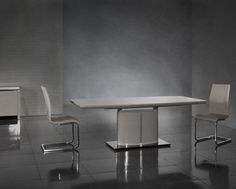 Image For Florence Extending Dining Table 6 Mony Chairs