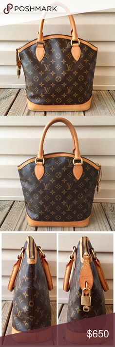 Louis Vuitton Lockit Vertical PM Authentic. Made in France. Date code: FL3100. Beautiful condition purse. Canvas is excellent, no flaws. Vachetta is a light patina with light water marks and scratches. Zipper open/closes smoothly. Lining is clean. Includes lock and key and LV dust bag. An ideal city bag that can be carried on the arm or hand-held, so gorgeous! •NO TRADE• Louis Vuitton Bags Satchels