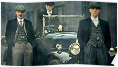 Peaky Car Poster