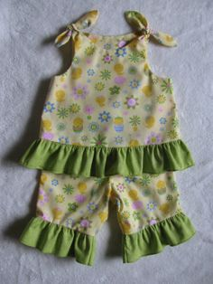 Easter Top and Ruffle Pants by SusieQsCupcakeBoutiq