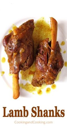 Persian Lamb Shanks Recipe