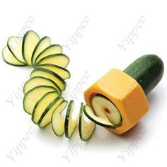 Creative Nut Scew Design Vegetable Cucumber Slicer  $6.80 $5.10
