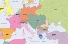 Hărţi Europa, începând cu anul 1500 şi până în anul 2000