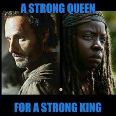 Richonne - Rick + Michonne - The Walking Dead Rick And Michonne, Rick Grimes, Walking Dead Series, Fear The Walking Dead, Dead Pictures, Dead Pics, Tv Land, Dead Inside, Stuff And Thangs