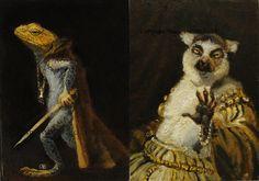 michael sowa animal art - Google Search Michael Sowa, Art Google, Surrealism, Whimsical, Weird, Paintings, Google Search, Artist, Animals