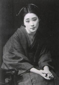 """Gotta read up on what Japanese women, and CHinese women went through in the It's beginning to shape up that virtually NObody got a """"good deal"""". Japanese History, Japanese Beauty, Japanese Culture, Japanese Lady, Japanese Photography, Old Photography, Vintage Photographs, Vintage Photos, Art Occidental"""