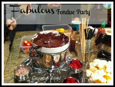 Simple tips on hosting and organizing a fun fondue party!