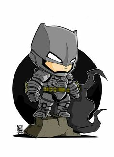 Showcase batman gifts that you can find in the market. Get your batman gifts ideas now. Chibi Marvel, Marvel Dc Comics, Batman Chibi, Chibi Superhero, Batman Cartoon, Batman Vs Superman, Batman Art, Comic Books Art, Comic Art