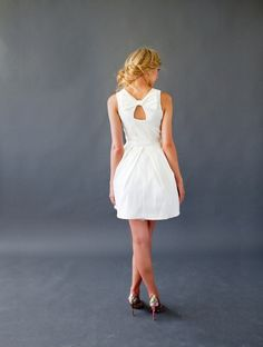 Beautiful gift for her: The Jubilee Dress in Ivory. Tulle and Tafetta. She'll wear it for New Year's Eve and beyond. Made in the USA, shipped FREE to US and Canada. White Tulle, White Dress, Beautiful Gifts For Her, Bridesmaid Dresses, Wedding Dresses, Bridesmaids, Rehearsal Dress, Posh Party, Vintage Inspired Dresses
