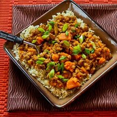 Slow Cooker Sweet and Spicy Ground Turkey and Sweet Potato Stew from Kalyn's Kitchen; this is one of my all-time favorite slow cooker recipes! [via Slow Cooker from Scratch] Slow Cooker Recipes, Crockpot Recipes, Cooking Recipes, Healthy Recipes, Crockpot Dishes, Yummy Recipes, Free Recipes, Crockpot Ground Turkey, Ground Turkey Recipes