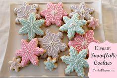 Snowflake Sugar Cookies!