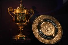 Wimbledon - the Gentlemen's Singles Trophy and the Ladies' Singles Trophy.