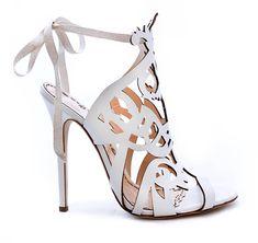 Marchesa Bridal Shoe Line Jessica   Brides.com