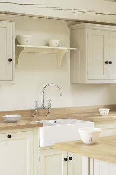 The Ashbourne Shaker Kitchen by deVOL.