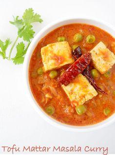 tofu matar masala curry