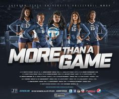 2015-16 JSU Volley Ball Poster