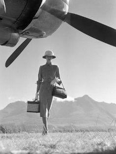 Travel light. #travel #vintage #retro #safari #vogue #jetsettercurator