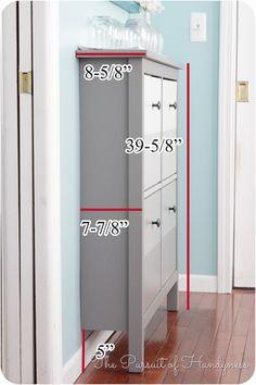 Ikea Hemnes Shoe Cabinet Dimensions