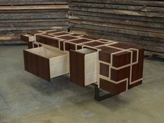 Wooden sideboard with drawers KUBINA - Atelier MO.BA. Drawer Design, Custom Made Furniture, Architecture, Sideboard, Drawers, Contemporary, Wood, Home Decor, Accessories