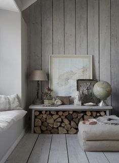 Wood Walls The Oyster Catcher, Luxury Cornish self-catering holiday home Mousehole,Lu xury … Living Room Modern, Living Room Decor, Living Rooms, Ship Lap Walls, Wooden Walls, Wood Paneling Walls, Wood Paneling Makeover, Panelling, Home And Deco