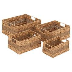 Found it at Wayfair - Creative Styled 4 Piece Seagrass Basket Set in Brownhttp://www.wayfair.com/daily-sales/p/In-the-Clear%3A-Storage-Solutions-Creative-Styled-4-Piece-Seagrass-Basket-Set-in-Brown~WLI16460~E14333.html?refid=SBP.rBAZEVKbmMkC93S6XbfhAuoRGGTKcEMOv1F4DUsMdnU